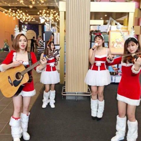 Christmas Live Band & Musician for Hire in Kuala Lumpur & Malaysia.